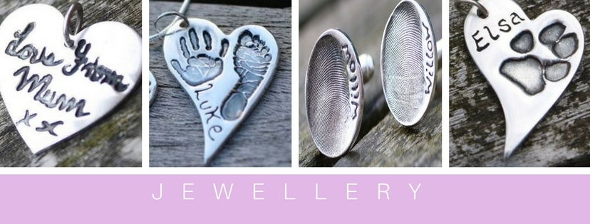 silver fingerprint jewellery during Covid-19