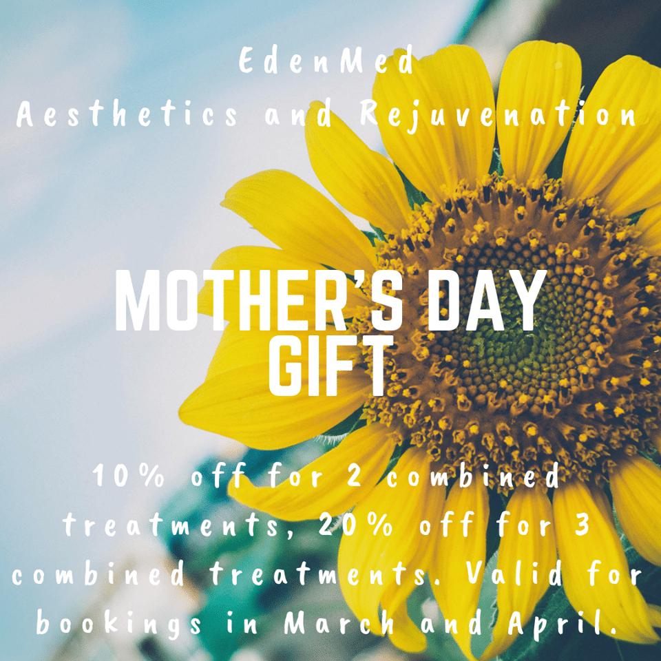 eden med aesthetics mothers day offer working with award winning 3D Casting Training Company Precious Memories