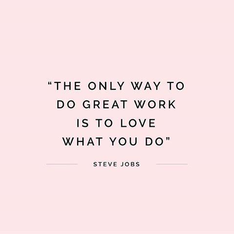 love my job inspirational quote for an entrepeneur 3d casting workshop poole dorset
