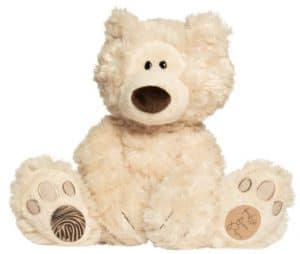 Fingerprint memory teddy bear