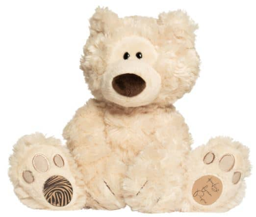 Fingerprint memory teddy bear