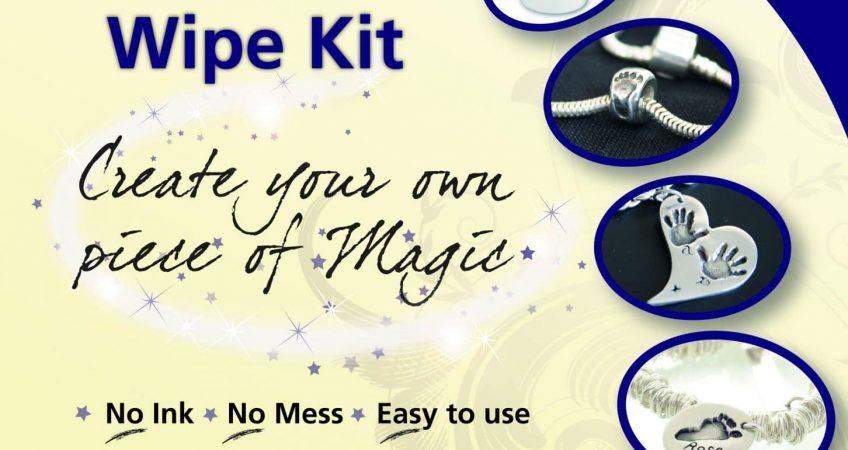 Inkless wipe kit for silver jewellery