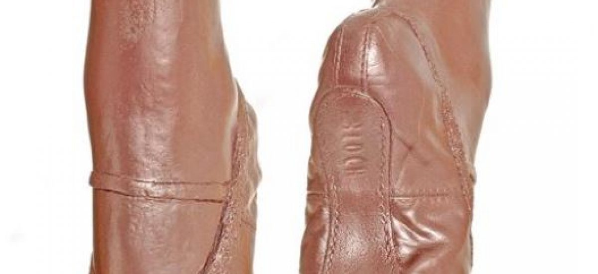 3d castings of ballerina shoes